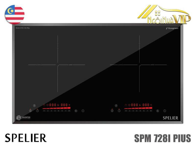 Bếp từ đôi Spelier SPM-728I Plus