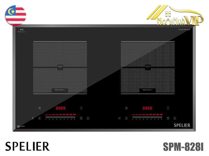 Bếp từ đôi Spelier SPM-828I