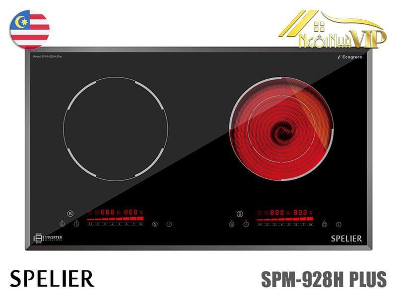 Bếp điện từ đôi Spelier SPM-928H Plus