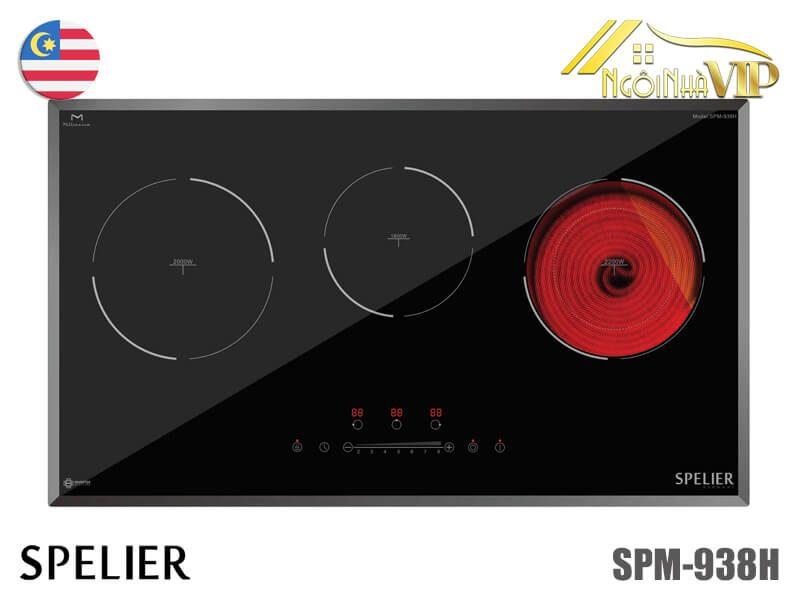 Bếp điện từ ba Spelier SPM-938H