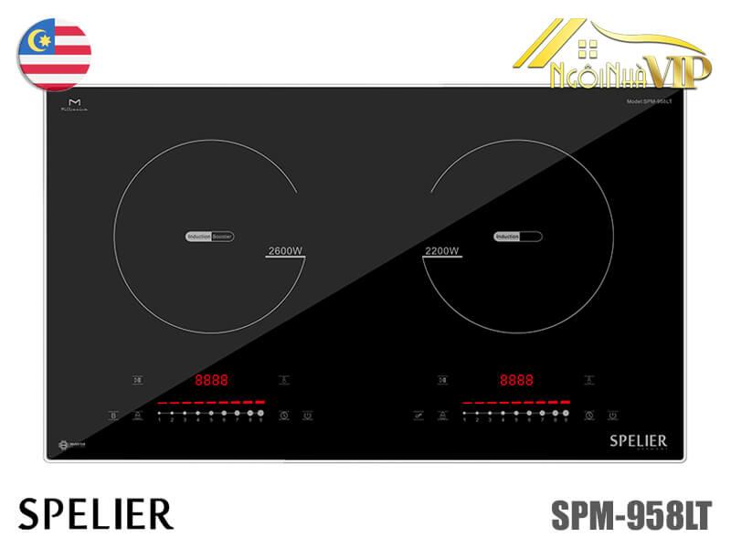 Bếp từ đôi Spelier SPM-958LT