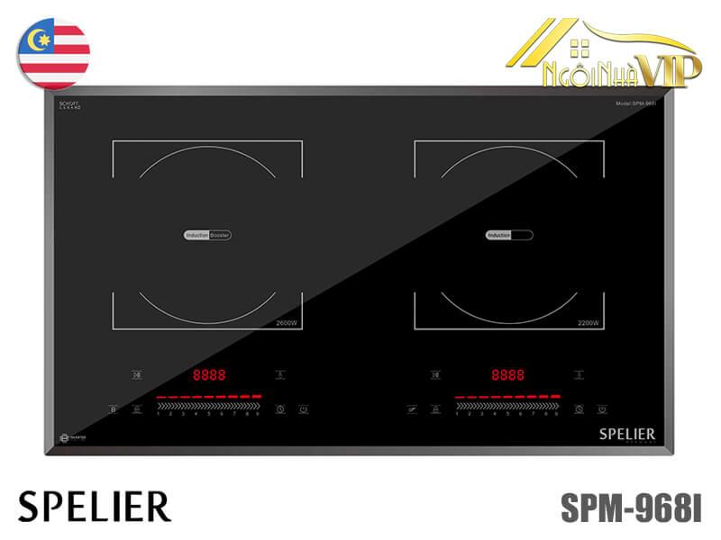 Bếp từ đôi Spelier SPM-968I
