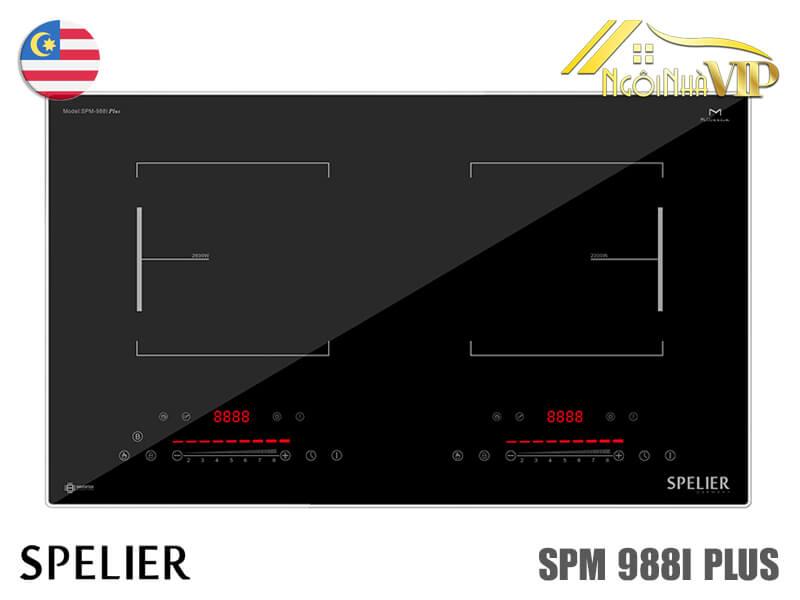 Bếp từ đôi Spelier SPM-988I Plus