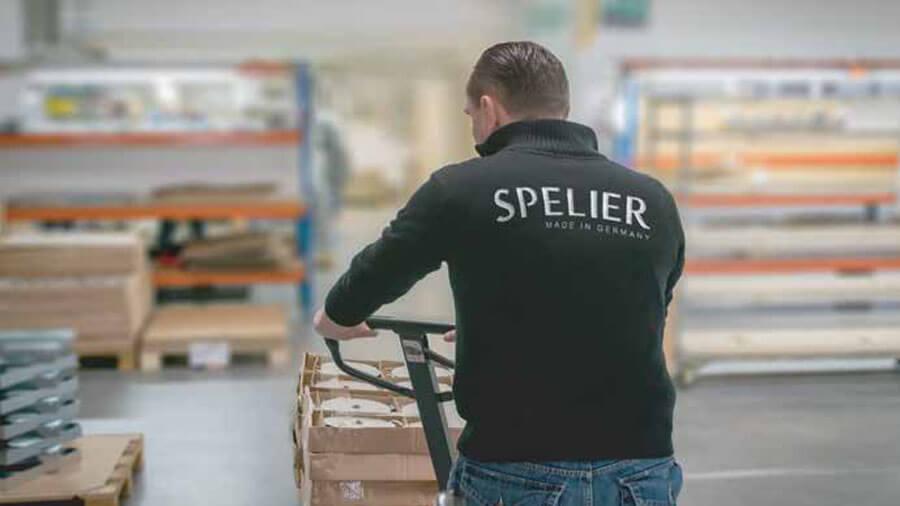 Bếp từ Spelier nhập khẩu cộng hòa liên bang Đức