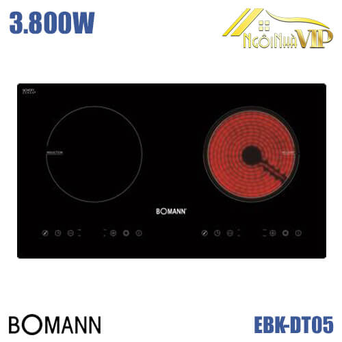 Bếp điện từ Bomann EBK-DT05 3800W
