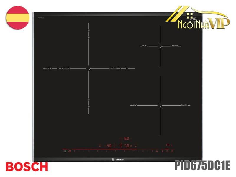 Bếp từ ba Bosch-PID675DC1E công suất 7400W