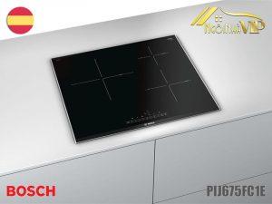 Bếp từ ba Bosch-PIJ675FC1E công suất 6200W