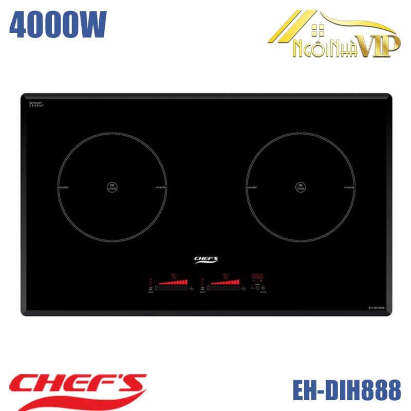 Bếp từ đôi Chefs DIH888 4000W
