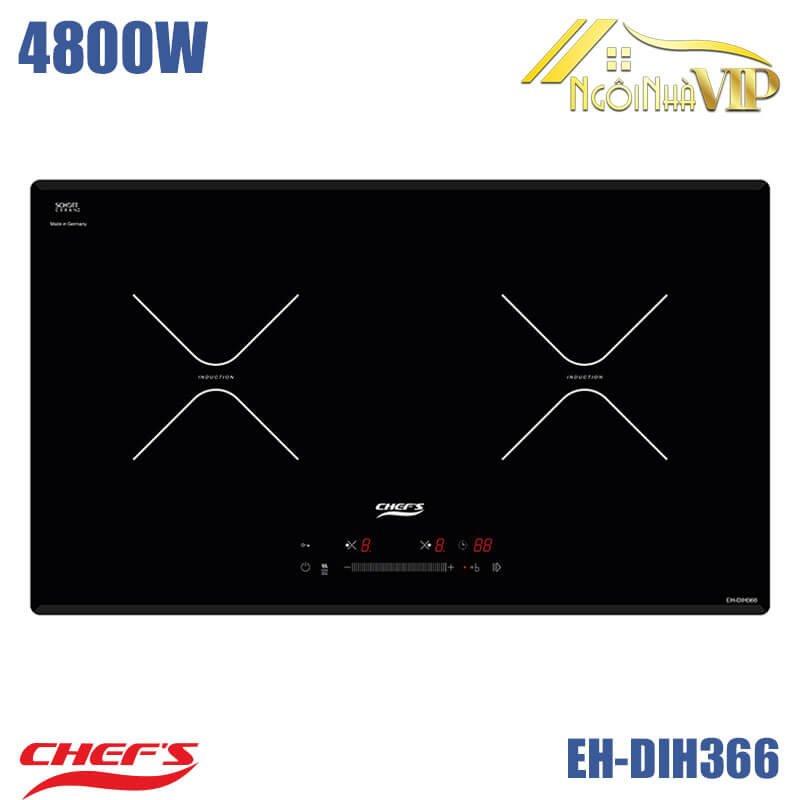 Bếp từ đôi Chefs EH-DIH366 4800W