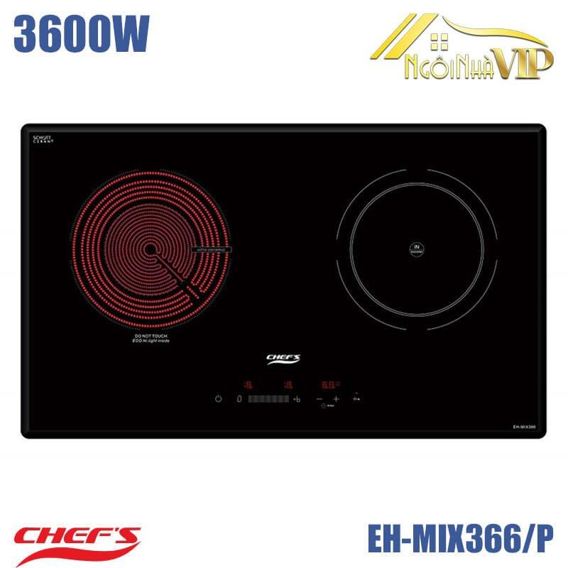 Bếp điện từ đôi Chefs EH-MIX366/P 3600W