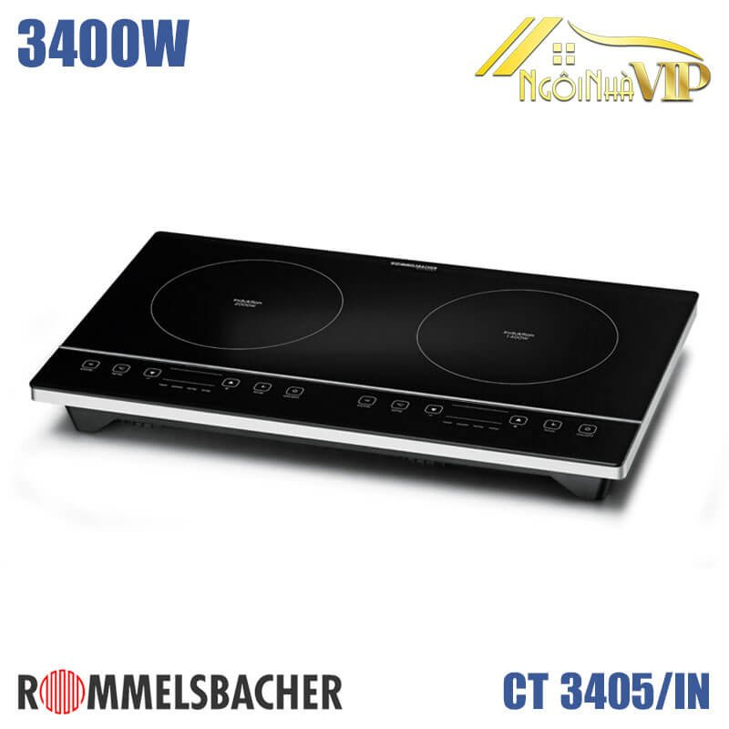 Bếp từ đôi Rommelsbacher CT 3405/IN 3400W