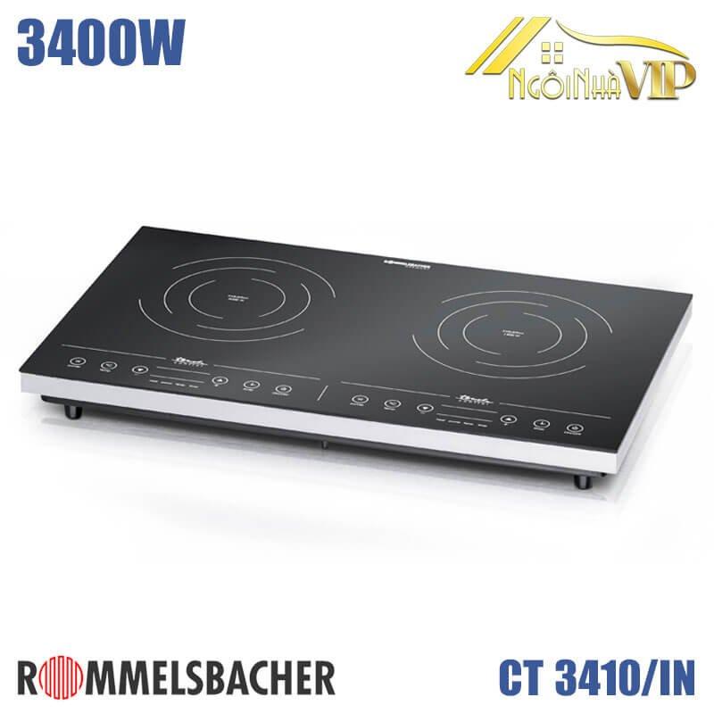 Bếp từ đôi Rommelsbacher CT 3410/IN 3400W